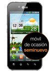 LG Optimus Black negro (P970) seminuevo