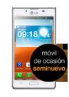 LG Optimus L7 blanco (P700) seminuevo