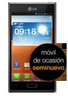 LG Optimus L7 negro (P700) seminuevo