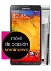 Samsung Galaxy Note 3 negro (N9005) seminuevo