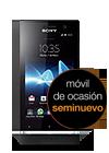 Sony Xperia™ U negro seminuevo