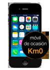 Apple iPhone 4s 8GB negro Km0