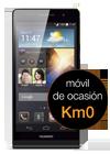 Huawei Ascend P6 negro Km0