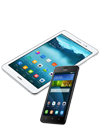 Tablet Huawei MediaPad T1 8.0 4G PRO plata + Huawei Ascend Y635 negro