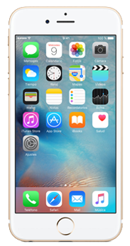 Apple iPhone 6s Plus 16 GB oro