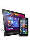 Tablet Lenovo Yoga 2 4G Windows negro + Microsoft Lumia 640 negro