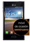 LG Optimus L5 negro (E610) seminuevo