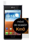 LG Optimus L7 negro (P700) Km0