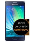 Samsung Galaxy A3 negro (A300) seminuevo