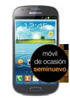Samsung Galaxy Express gris (I8730) seminuevo