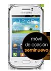 Samsung Galaxy Young blanco (S6310N) seminuevo