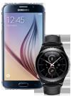 Samsung Galaxy S6 32GB negro (G920F) + Gear S2 Classic negro (R732)