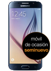 Samsung Galaxy S6 64GB negro (G920F) seminuevo
