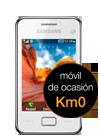 Samsung Star III blanco (S5220) Km0