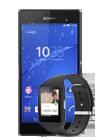 Sony Xperia™ Z3 (D6603) negro + Sony Smartwatch 3 (SWR50) negro