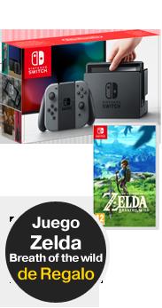 Nintendo Switch + Zelda: Breath of the wild
