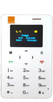 Orange Card Phone blanco