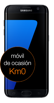 Samsung Galaxy S7 edge 32 GB negro (G935F) km0