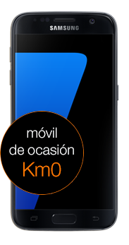 Samsung Galaxy S7 32 GB negro Km0