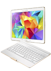 Tablet Samsung Galaxy Tab S 10.5 4G blanco + teclado bluetooth