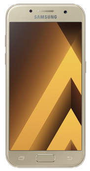 Samsung Galaxy A3 2017 dorado