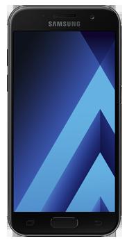 Samsung Galaxy A3 2017 negro (A320F)