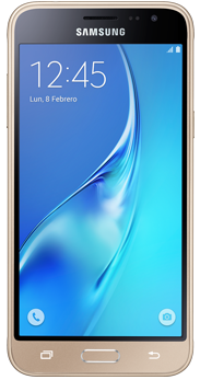 Samsung Galaxy J3 2016 dorado