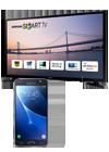 Samsung televisor 40 Smart TV J5200 negro + Samsung Galaxy J5 2016 negro