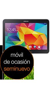 tablet Galaxy Tab 4 10.1 4G negro (T535) seminuevo