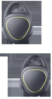 Samsung Gear IconX negro