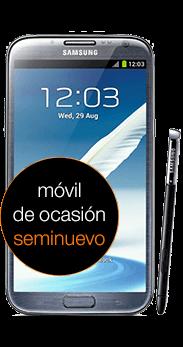 Samsung Galaxy Note II negro (N7100) seminuevo