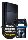Sony PlayStation 4 1 TB + Uncharted 4