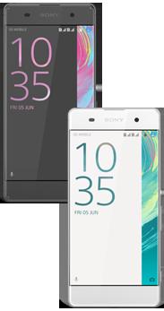 Sony Xperia™ XA negro + Xperia™ XA blanco
