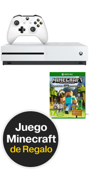 Xbox One S 500 GB blanco Edición Minecraft